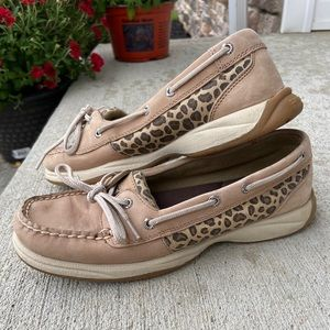 SPERRY | Authentic Cheetah Boat Shoes 7.5